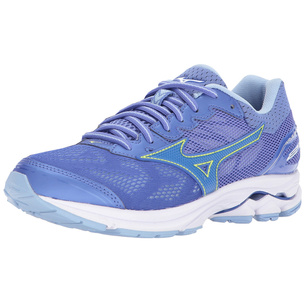 MIZUNO Womens Wave Rider 21 Baja Blue/Dazzling Blue Running Shoes (410974-5D5B)