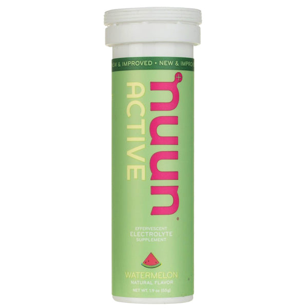 NUUN Active Watermelon Single Tube Electrolyte Tablets (1161201)