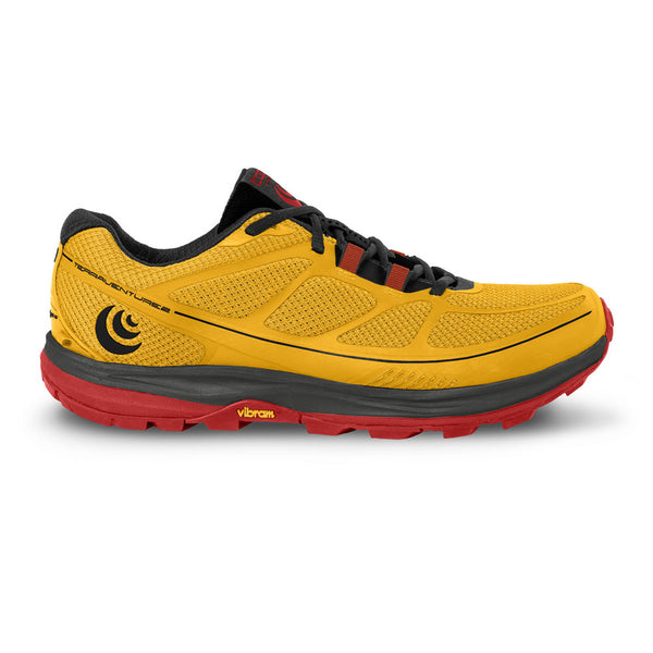 TOPO ATHLETIC Mens Terraventure 2 Yellow/Black Running Shoes (M029-YELBLK)