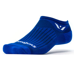 Swiftwick Aspire Zero Cobalt Blue Running Socks (ZC330ZZ)