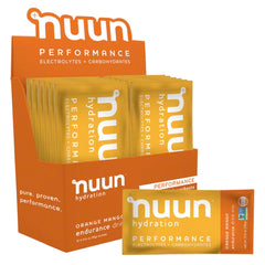 NUUN Performance Orange Mango Box of 12 Sachets Drink Mix (1190212)