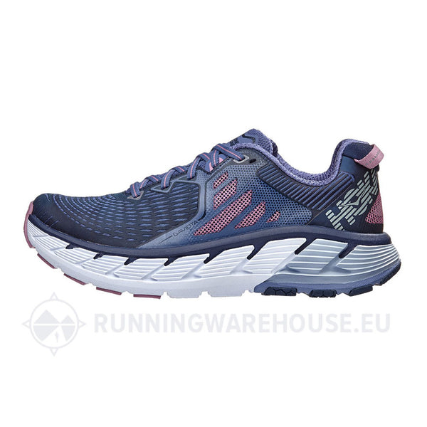 HOKA Womens Gaviota Marlin/Dress Blue Shoe (1016303-MDSB)