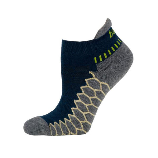 BALEGA Silver Performance Legion Blue/Grey Running Socks (8073-6339)