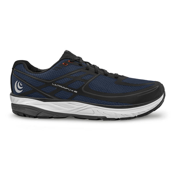 TOPO ATHLETIC Mens Ultrafly 2 Navy/Black Running Shoe (M024-NAVBLK)