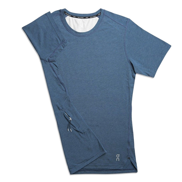 ON FOOTWEAR Mens Comfort-T Navy Shirt (101.4110)