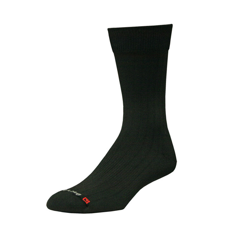 DRYMAX Dress Unisex Crew Black Running Socks (DMX-DRS-5002-P)
