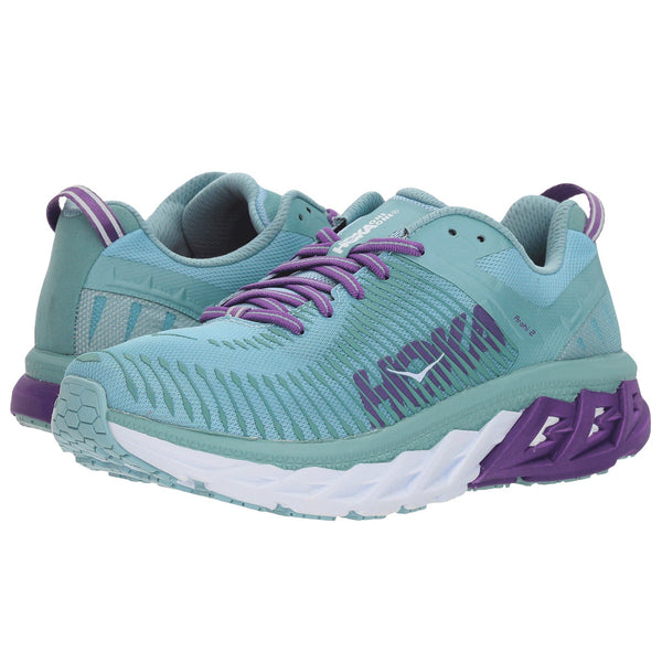 HOKA ONE ONE Women's Arahi 2 Aquifer Sea Angel Shoe (1019276-ASAN)