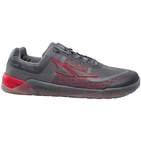 ALTRA Mens HIIT XT 1.5 Gray/Red Running Shoe (AFM1876P-20)