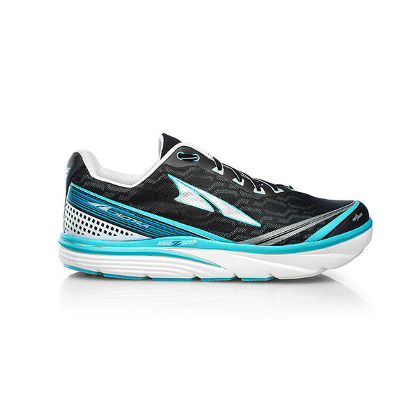 ALTRA Womens Torin IQ Silver-Blue Running Shoes (AFW1737Q-4)