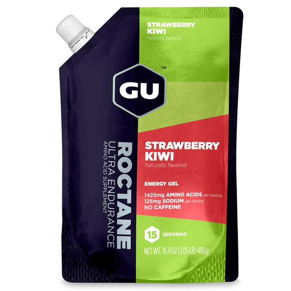 GU ENERGY Roctane Ultra Endurance Strawberry Kiwi 15 Serving Packet Energy Gel (124254)