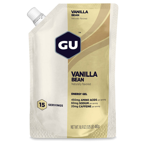 GU ENERGY Original Sports Nutrition Vanilla Bean 15 Serving Packet Energy Gel (124099)