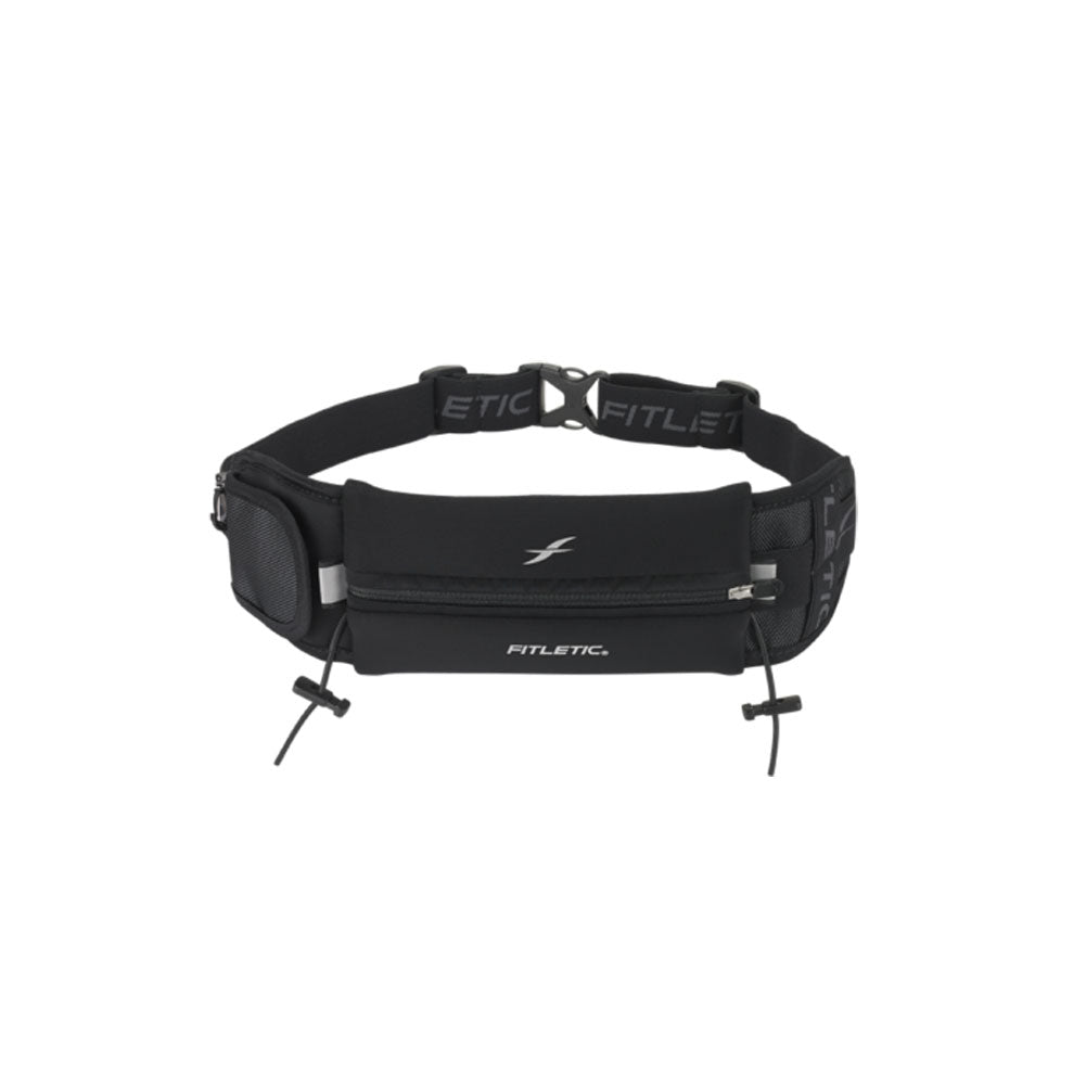 FITLETIC Ultimate II Black Running Belt (N04-01)