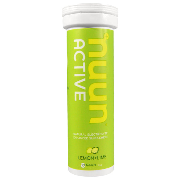 NUUN Active Lemon Lime Single Tube Electrolyte Tablets (1160101)