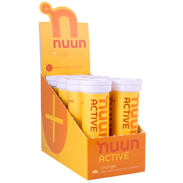 NUUN Active Orange Box of 8 Tubes Electrolyte Tablets (1160308)