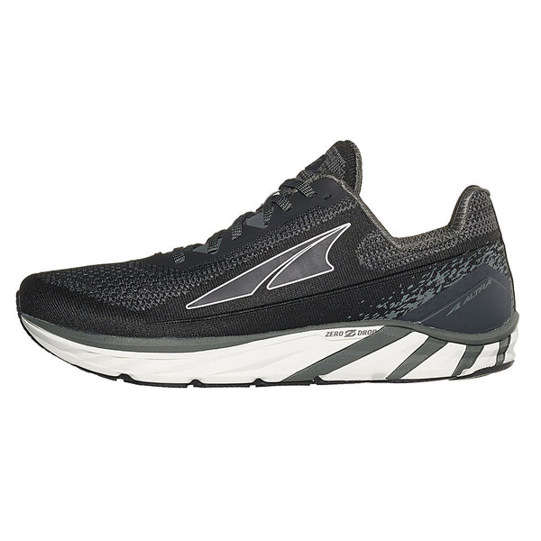 ALTRA Mens Torin 4 Plush Black/Gray Road Shoe (ALM1937K-020)