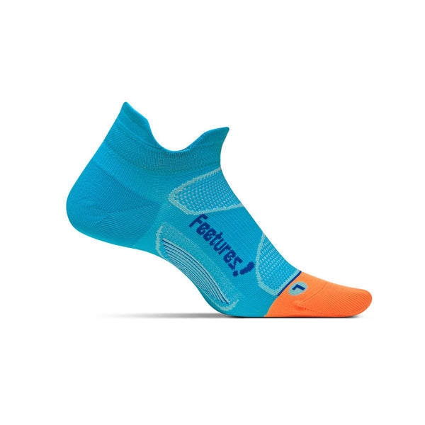FEETURES Elite Ultra Light Unisex Blue Lagoon/Cobalt Running Socks (E55085)