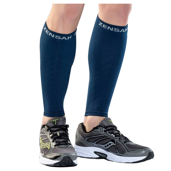 ZENSAH Compression Navy Leg Sleeves (6055-106)