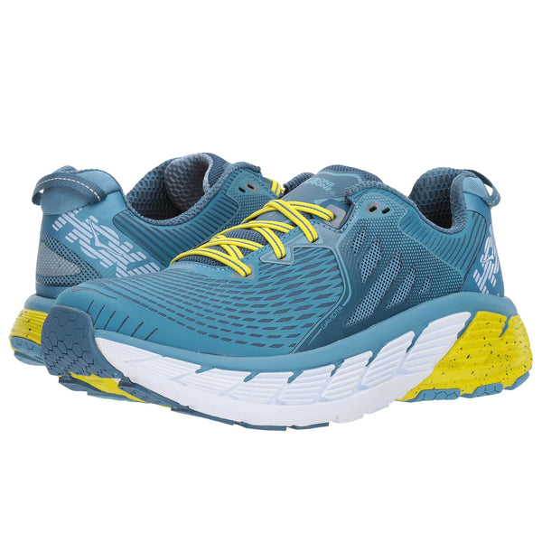 HOKA ONE ONE Men's Gaviota Niagara Midnight Shoe (1016301-NMDN)