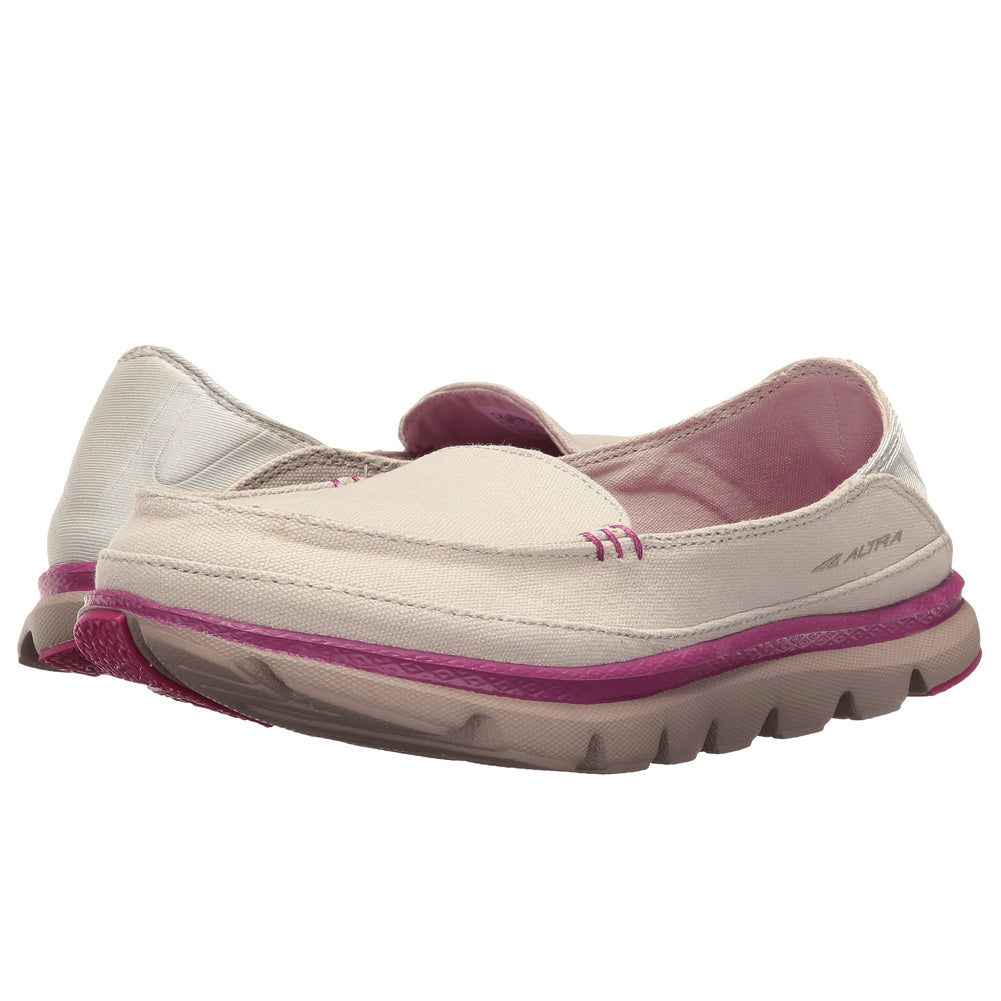 ALTRA Womens Tokala Taupe/Pink Walking Shoes (A2672-3)