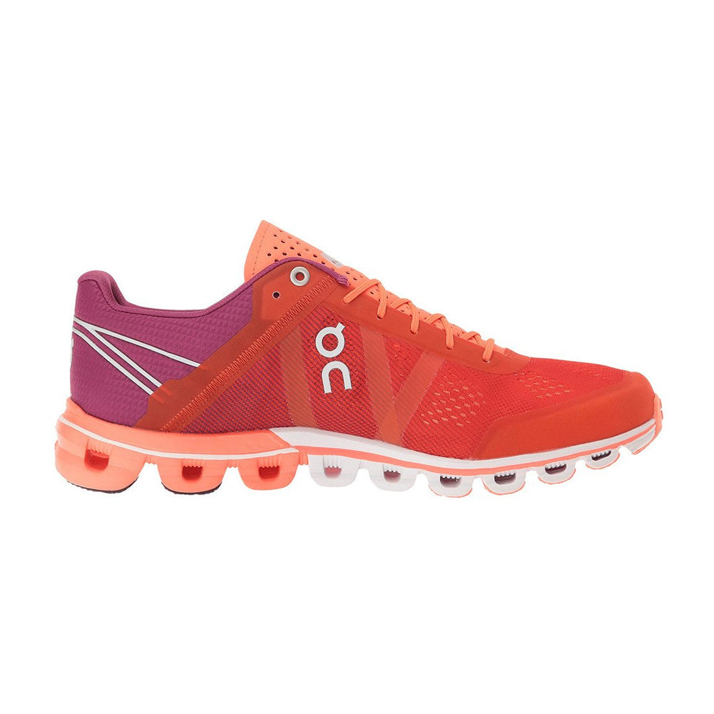 On Footwear Cloudflow Womens Performance Spice & Flash Running Shoes (15.1563)