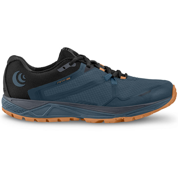 TOPO ATHLETIC Mens MT-3 Slate/Orange Running Shoe (M031-SLAORG)