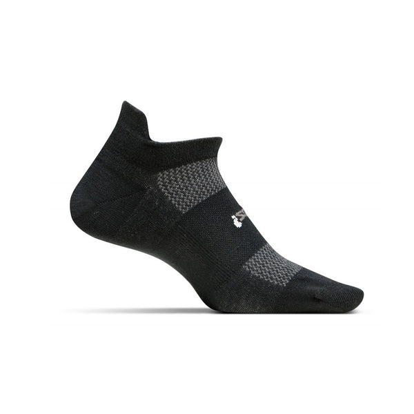 FEETURES HP Ultra Light Unisex Black Running Socks (FA5501)