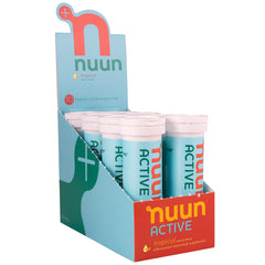 NUUN Active Tropical Box of 8 Tubes Electrolyte Tablets (1161108)