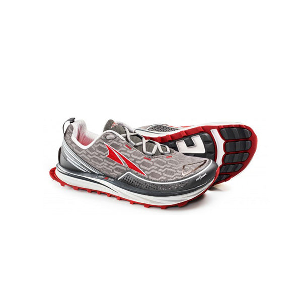 ALTRA Mens Timp IQ Charcoal-Red Trail Running Shoes (AFM1757Q-2)