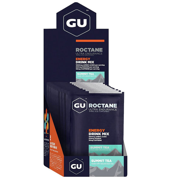 GU ENERGY Roctane Ultra Endurance Summit Tea 10-Pack Energy Drink Mix (124195)