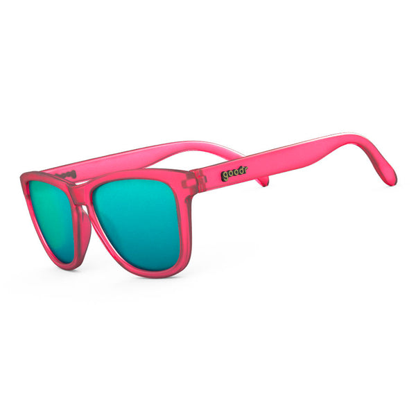 GOODR Flamingos on a Booze Cruise Pink with Teal Lens Sunglasses (OG-PK-TL1)