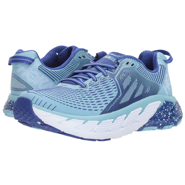 HOKA ONE ONE Women's Gaviota Blueprint Surf The Web Shoe (1016303-BSTW)