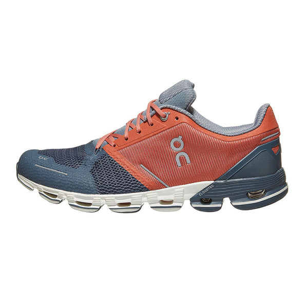 ON FOOTWEAR Mens Cloudflyer Rust/Stone Running Shoe (11.99997)