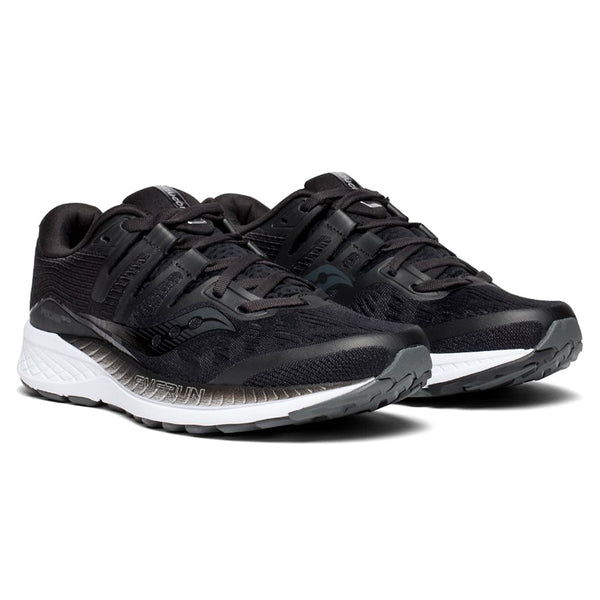 SAUCONY Women's Ride ISO Black Running Shoe (S10444-2-001)