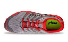 INOV-8 Men's Trailtalon 235 V2 Grey/Red Trail Running Shoes