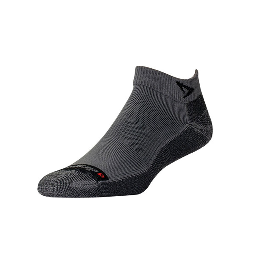 DRYMAX Lite Trail Run Unisex Mini Crew Gray/Anthracite Running Socks (DMX-RUN-1309-P)