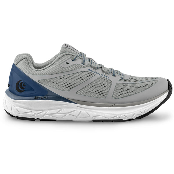 TOPO ATHLETIC Mens Phantom Grey/Blue Running Shoe (M032-GRYBLU)