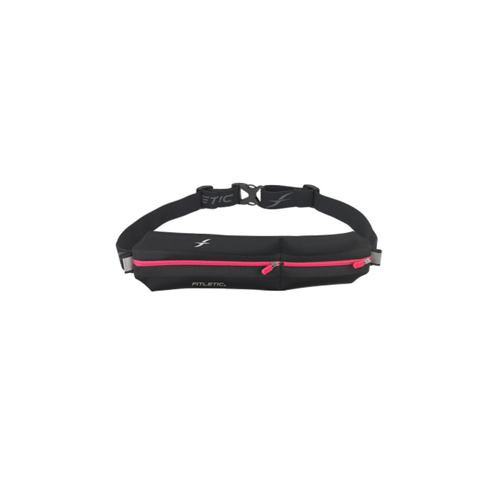 FITLETIC NEO II Black-Pink Double Pouch (N02-08)