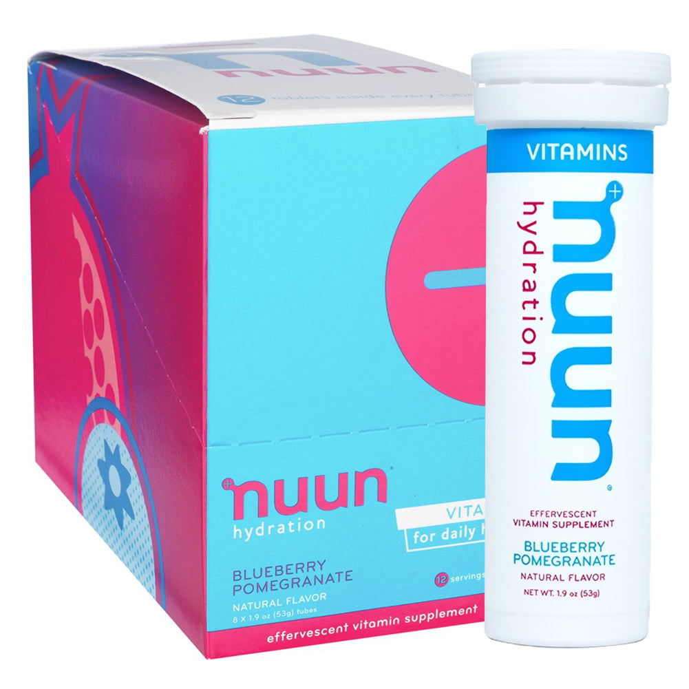 NUUN Blueberry Pomegranate Box of 8 Tubes Vitamins (1181108)