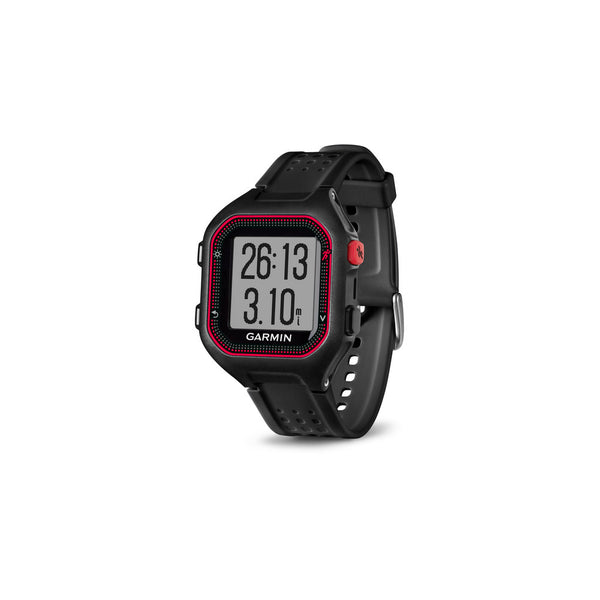 Garmin Forerunner 25 Large Black and Red Watch (010-01353-00)