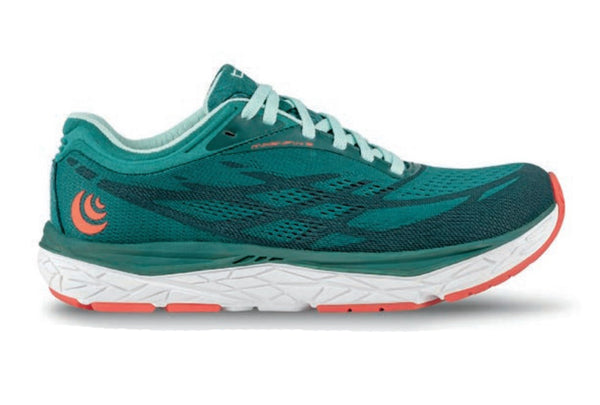 TOPO ATHLETIC Womens Magnifly 3 Emerald/Sky Running Shoes (W034-EMESKY)
