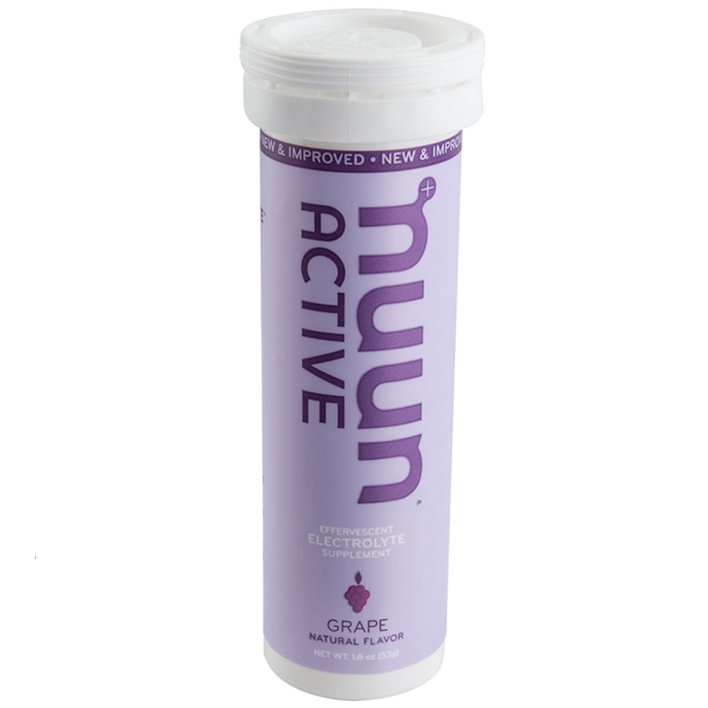 NUUN Active Grape Single Tube Electrolyte Tablets (1160901)