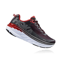 HOKA ONE ONE Bondi 5 Black, Formula One Road Running Shoes (1014757-BFON)