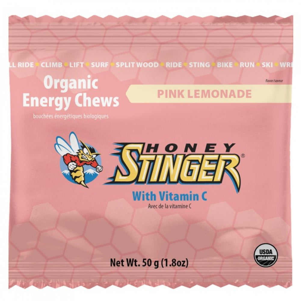 Honey Stinger Pink Lemonade Energy Chews (72512)