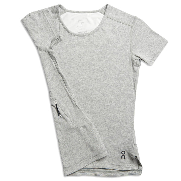 ON FOOTWEAR Womens Comfort-T Grey Shirt (201.4103)