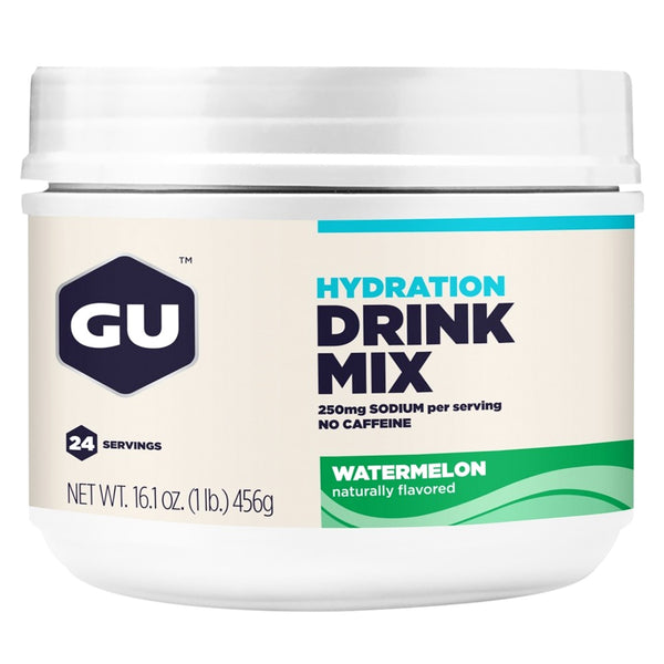 GU ENERGY Hydration Watermelon 24 Serving Canister Drink Mix (123103)