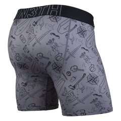 BN3TH Entourage Moral Compass/Charcoal Boxer Brief (ACTBB-266)