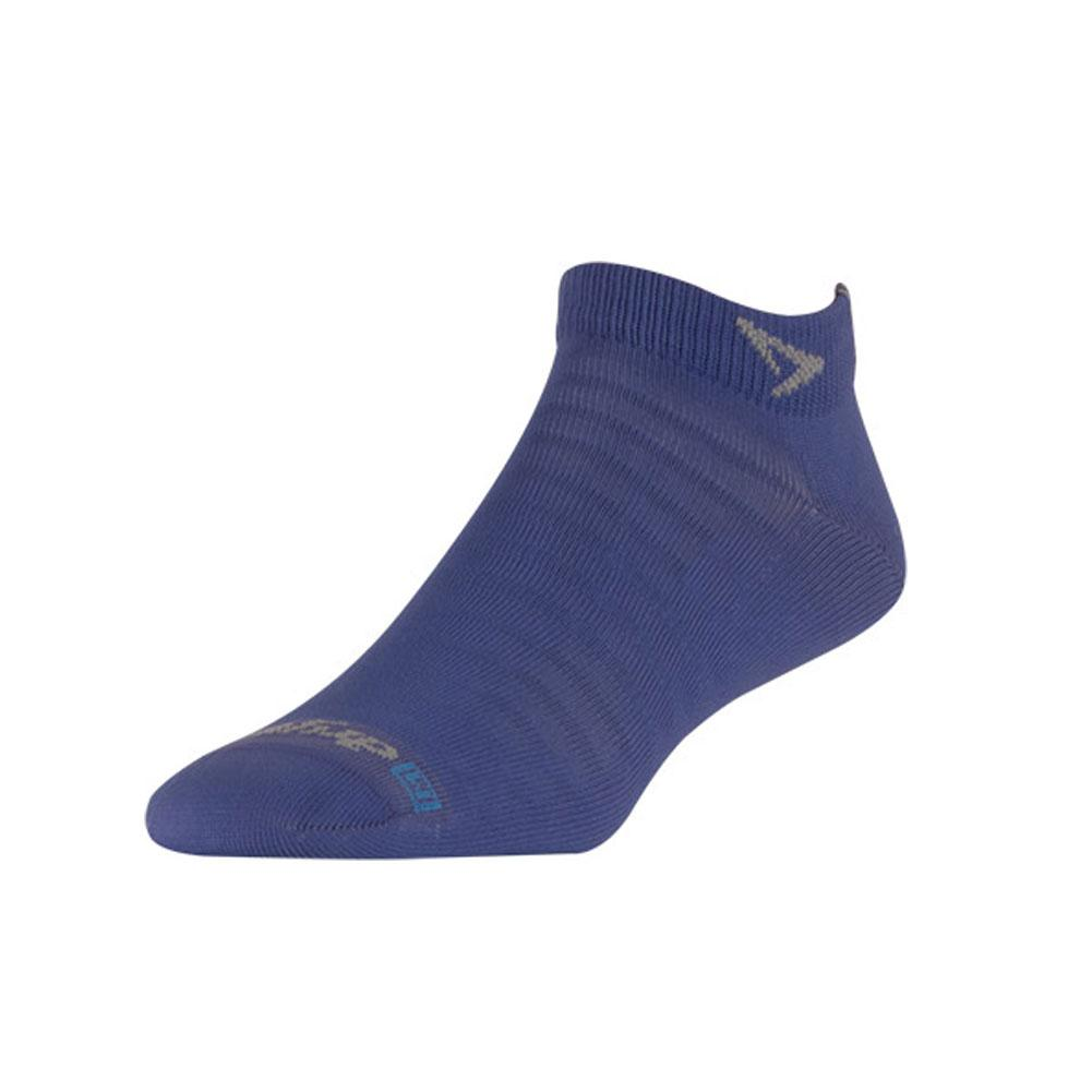DRYMAX Hyper Thin Running Mini Crew Periwinkle Socks (DMX-RUN-1224-P)