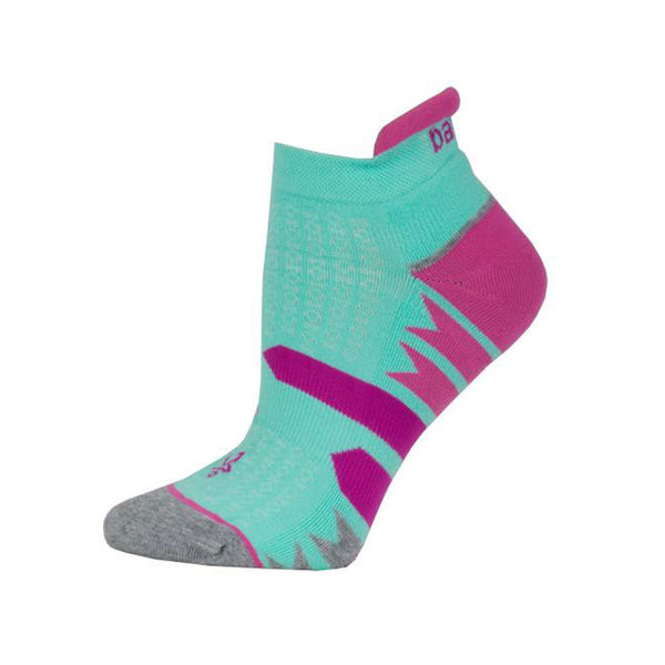 BALEGA Womens Enduro No Show Light Aqua/Midgrey Socks (7469-0689)