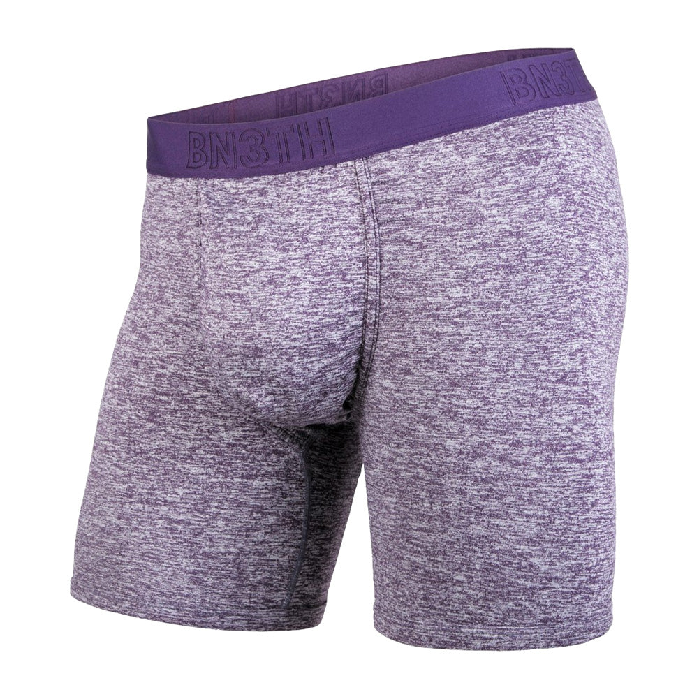 BN3TH Pro 2.0 Eggplant Heather Boxer Brief (PRO2BB-286)