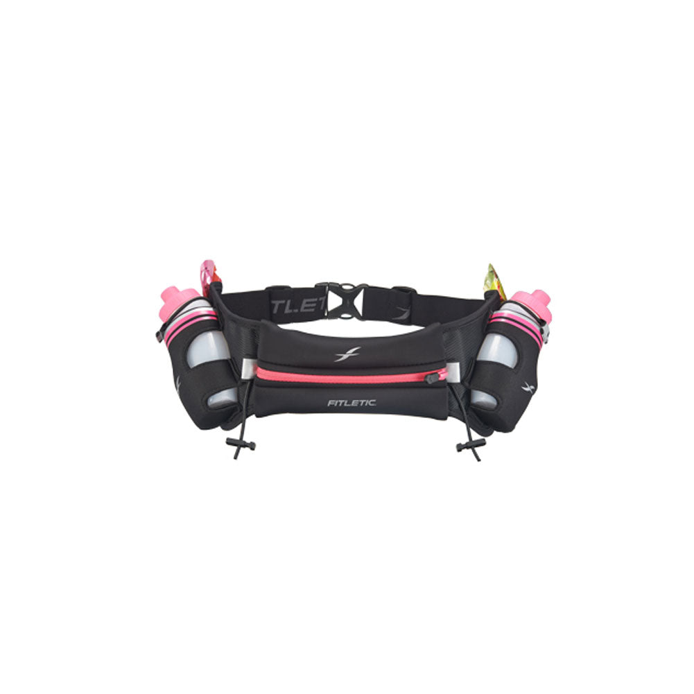 FITLETIC Hydra 12 Black-Pink Hydration Belt (HD06-C8)
